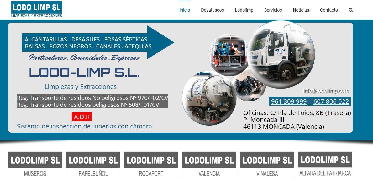 diseño web empresa de limpieza
