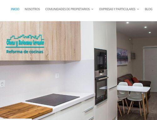 Diseño web empresa reformas Valencia