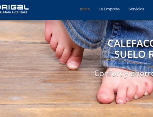 Diseño web corporativa Instalaciones eléctricas, gas y Fontaneria.