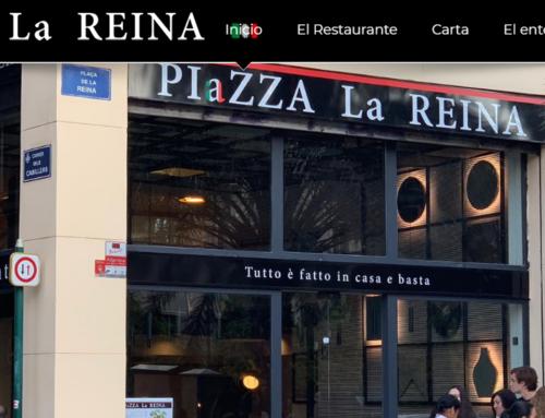 Diseño web para restaurante en Valencia